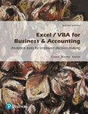Cover of Excel / VBA for Business and Accounting (Pearson Original Edition)