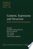 Content, Expression and Structure