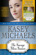 The Savage Miss Saxon  Alphabet Regency Romance