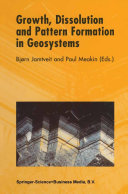 Growth, Dissolution and Pattern Formation in Geosystems Pdf