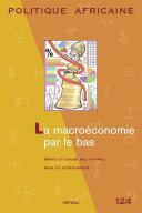 Pdf POLITIQUE AFRICAINE N-124 : La macroéconomie par le bas Telecharger