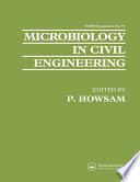Microbiology in Civil Engineering Book