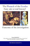 The Pharaoh of the Exodus  Fairy tale or real history