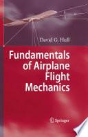 Fundamentals of Airplane Flight Mechanics Book