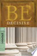 Be Decisive  Jeremiah  Book