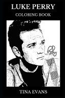 Luke Perry Coloring Book