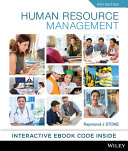 Cover of Human Resource Management 9E Hybrid