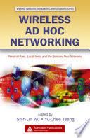 Wireless Ad Hoc Networking Book