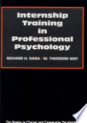 Internship Training in Professional Psychology