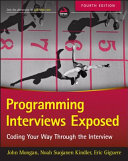 Programming Interviews Exposed Book