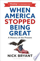 When America Stopped Being Great Book PDF