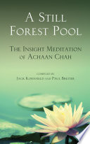 A Still Forest Pool  : The Insight Meditation of Achaan Chah