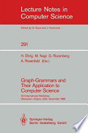 Graph Grammars and Their Application to Computer Science