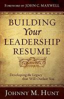 Building Your Leadership Résumé