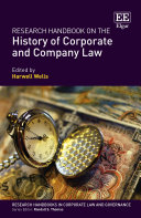Pdf Research Handbook on the History of Corporate and Company Law Telecharger