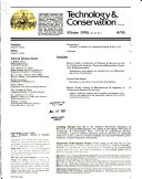 Technology   Conservation