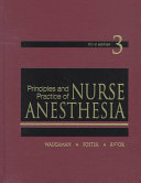 Principles and Practice of Nurse Anesthesia Book