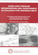 Ultrahigh-pressure Metamorphism and Geodynamics in Collision-type Orogenic Belts