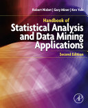 Handbook of Statistical Analysis and Data Mining Applications [Pdf/ePub] eBook