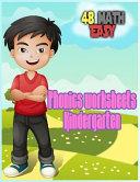 Phonics Worksheets Kindergarten Book