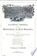 Popular Gardening and Fruit Growing Book