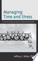 Managing Time And Stress Book PDF