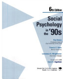 Social Psychology in the  90s Book