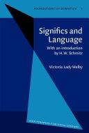 Significs and Language Pdf/ePub eBook