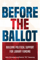 Before the ballot: building political support for library funding
