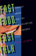 Fast Food, Fast Talk