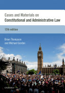 Cases   Materials on Constitutional   Administrative Law