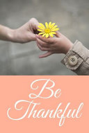 Be Thankful Book PDF