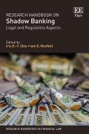 Research Handbook on Shadow Banking Pdf/ePub eBook