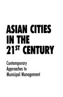 Asian Cities in the 21st Century