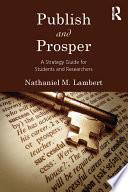 Publish and Prosper Book