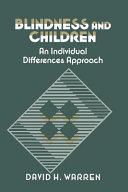 Blindness and Children ebook