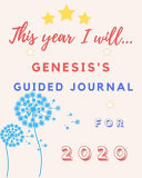 This Year I Will Genesis s 2020 Guided Journal