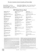 Joint Commission Journal on Quality and Patient Safety