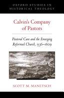 Calvin's Company of Pastors Pdf/ePub eBook