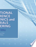 International Conference On Mechanics And Materials Engineering Icmme 2014  Book PDF