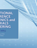 International Conference on Mechanics and Materials Engineering  ICMME 2014
