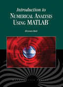 Introduction to Numerical Analysis Using MATLAB®