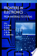 Frontiers In Electronics  From Materials To Systems  1999 Workshop On Frontiers In Electronics