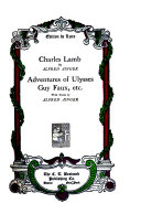 The Life and Works of Charles Lamb Book