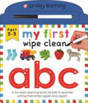My First Wipe Clean ABC Book