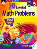 50 Leveled Math Problems Level 5