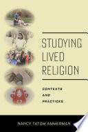 Studying Lived Religion