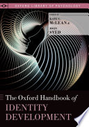 The Oxford Handbook of Identity Development