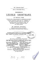 The  instruction book      Pocknell s Legible shorthand