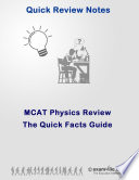 MCAT Physics  Quick Review Notes
